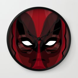 Dead-Pool (The Merc With A Mouth) Wall Clock