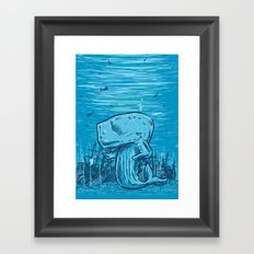 Catch me if you can Framed Art Print