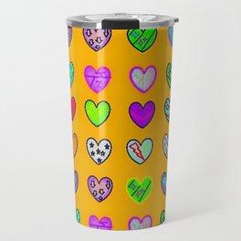 A heart for Britto by Nico Bielow Travel Mug
