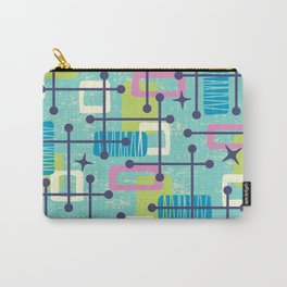 Mid Century Modern Abstract Pattern 835 Carry-All Pouch