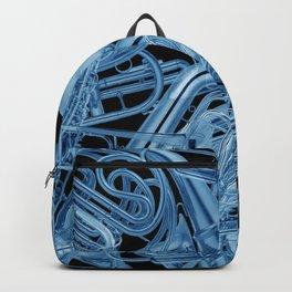 Brass Instruments Blue Backpack
