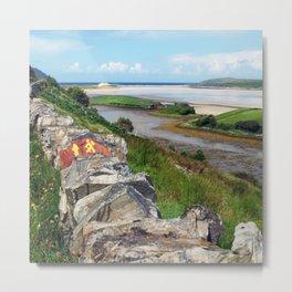 The Bracky River Estuary Metal Print