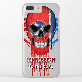 To The Core Collection: Tennessee Clear iPhone Case