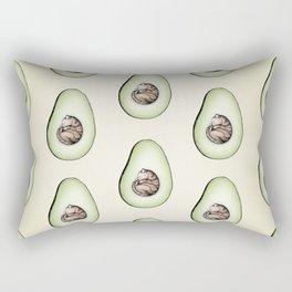 Avo-cat-o Rectangular Pillow