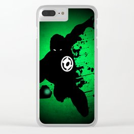 Green Lantern Clear iPhone Case