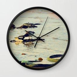 Trash Bird, #4 Wall Clock