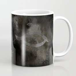 BLACK for hunting through the night. Shadowhunter Children's Rhyme. Coffee Mug