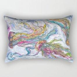 3 Jellyfish Rectangular Pillow