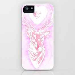 Louis' stag tattoo iPhone Case