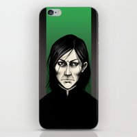 snape iPhone & iPod Skins featuring Severus Snape  by Fatma Sahem