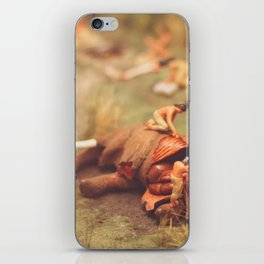 Hunters and Wooly Mammoth iPhone Skin