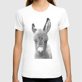 Black and White Baby Donkey T-shirt