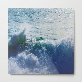 SPLASH! Metal Print