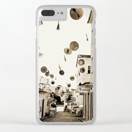 signs in the sky Clear iPhone Case
