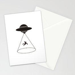Ufo agein... Stationery Cards