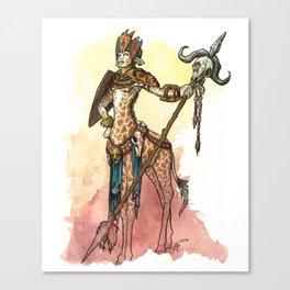 African Centaur Canvas Print