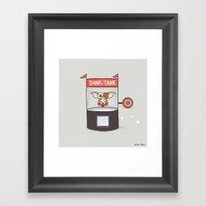 Dunk Gizmo Framed Art Print