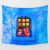 tea Wall Tapestries featuring Tea by digital2real