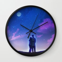 New Year, New Us Wall Clock