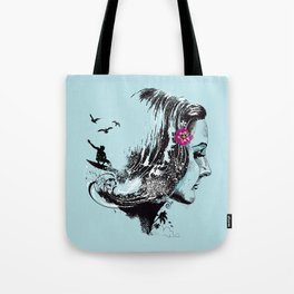 SURFHAIR Tote Bag