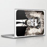 david lynch Laptop & iPad Skins featuring David Lynch by Emma Ridgway