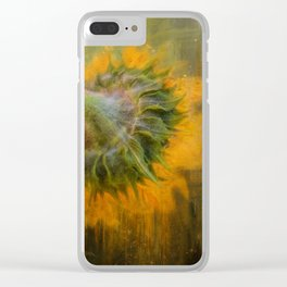 Turn Away Clear iPhone Case