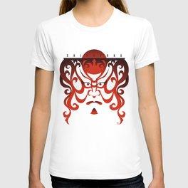 Shibaraku red - a Kabuki Portrait T-shirt