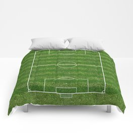Soccer (Fooball) Field Comforters