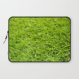 A million leaves of grass. Green is Everything Laptop Sleeve