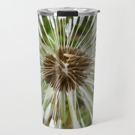 Dandelion In The Rain Travel Mug