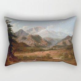View of Pike's Peak Rectangular Pillow