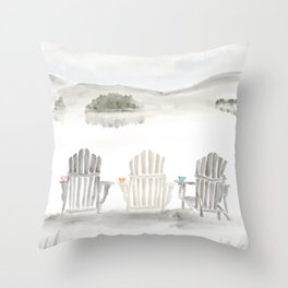 Molasses Pond ● The way the Sweet Life should be Throw Pillow
