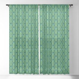 Forest Guardians Pattern Sheer Curtain