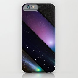 Space collage: comets mashups iPhone Case