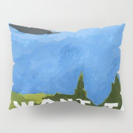 I Want to Believe poster in acrylic Pillow Sham