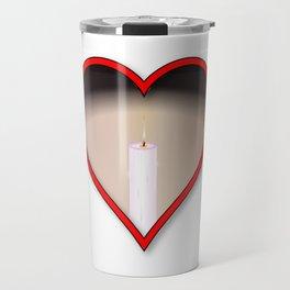 Love Candles Travel Mug