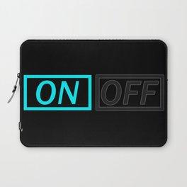 Light On Off Laptop Sleeve