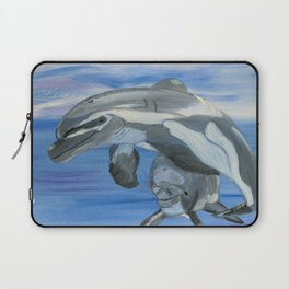 Sublime Dolphins Laptop Sleeve