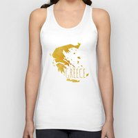 greece Tank Tops featuring Greece by Stephanie Wittenburg