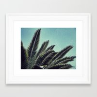 palms Framed Art Prints featuring Palms by RichCaspian