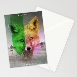 Field of Foxes Stationery Cards