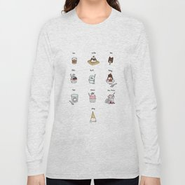 Parks and Rec Ice Cream Long Sleeve T-shirt