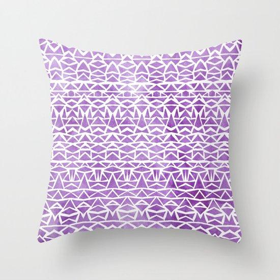 Tribal Mosaic Throw Pillow