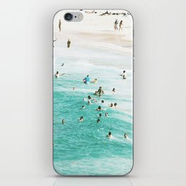 People In The Water iPhone Skin