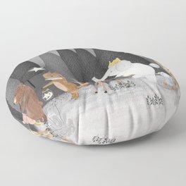 little stars Floor Pillow