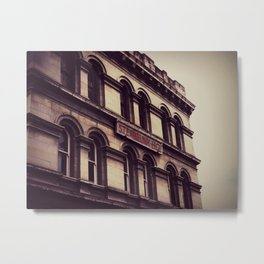 Steampunk HQ Metal Print