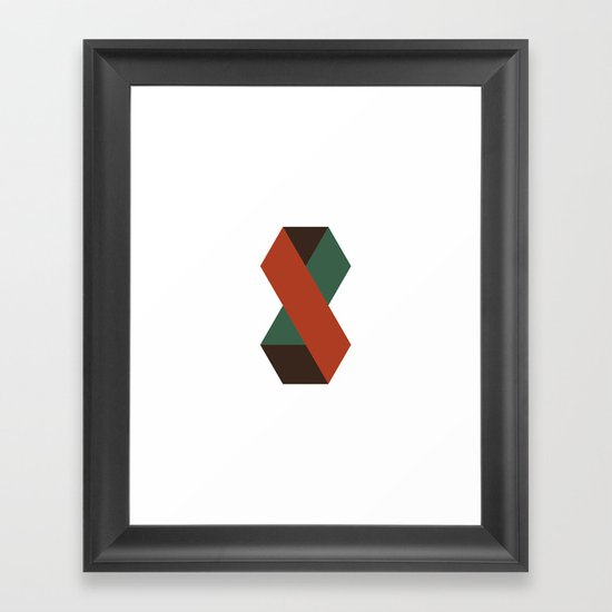 #327 Watchman – Geometry Daily Framed Art Print