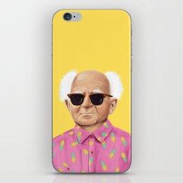 The Israeli Hipster leaders - David Ben Gurion iPhone Skin
