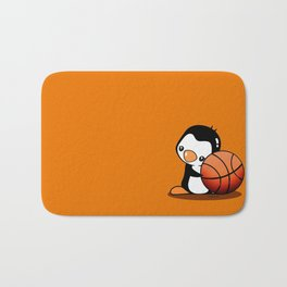 Basketball Penguin Bath Mat