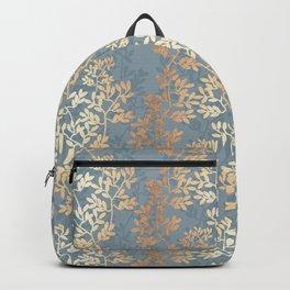Gold Leaf Tangles Backpack